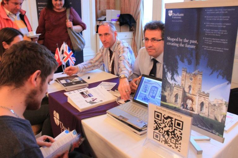 """If you want to see hoards of people coming through the door, then the UKET fairs are probably not for you. If however you want to meet focused, qualified students in premier venues, then the UKET fairs should be your first choice when considering your marketing activities in Turkey and/or Azerbaijan"".David Thornber, Durham University (Turkey & Azerbaijan, November 2012)."