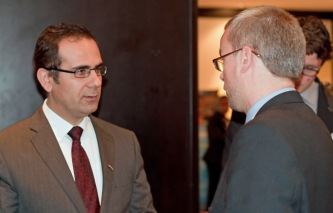 Dr Amanj Saeed, KRG and Rob Hayes, CEG