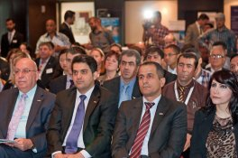 Guests at the UK Education Tour opening session