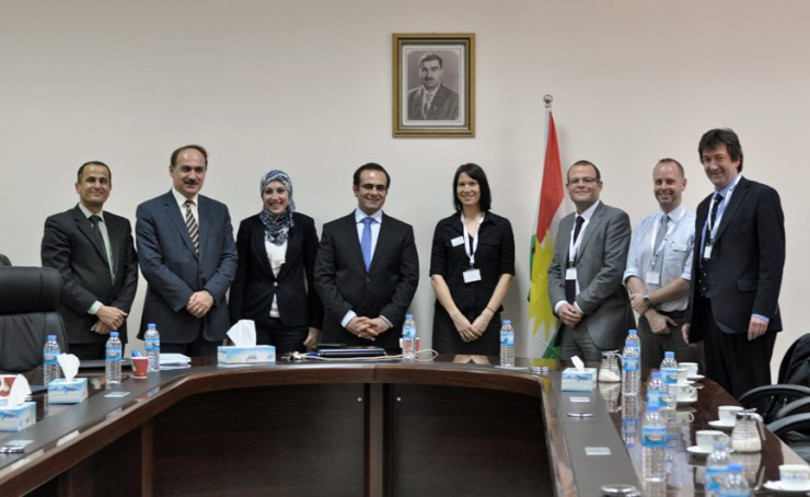 UK University meeting with Ministry of Higher Education