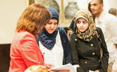 Students in Erbil meet Birmingham University