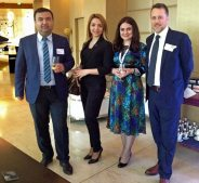 With friends from SOCAR, Baku