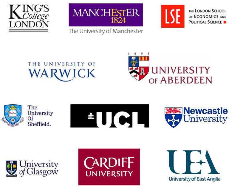 Previous University Exhibitors